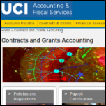 Contracts and Grants Website Thumbnail
