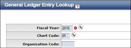 Make sure the fiscal period in the General Ledger Entry lookup shows the correct year